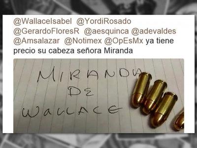 """""""El patrón ya dio la orden"""": la red de amenazas de muerte en Twitter contra periodistas mexicanos"""
