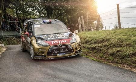 Rallye de Alsacia 2013: Sébastien Loeb vuelca y se queda sin fiesta