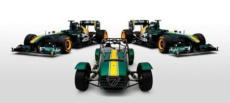 Team Lotus compra Caterham