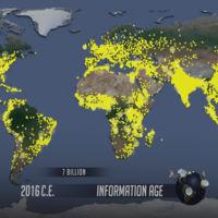 Así ha crecido la población humana desde el año 1 d.C. hasta la actualidad
