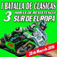 I Batalla de Clásicas: 3 Horas de Resistencia Sur de Europa. ¿Te lo vas a perder?