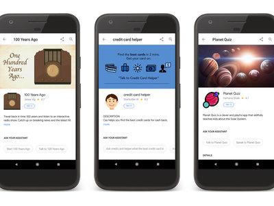 Escucha la radio de hace 100 años o contrata tarjetas de crédito con Assistant: así son los ganadores del concurso de Google