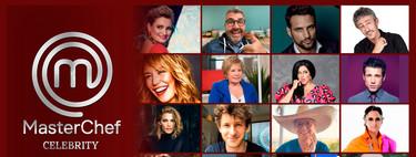 Quiénes son los 16 concursantes de  MasterChef Celebrity 5 y cuáles son sus habilidades culinarias