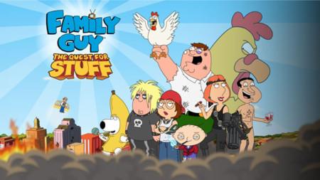 Family Guy: En búsqueda de cosas, ayuda a Peter Griffin a reconstruir Quahod en tu Android