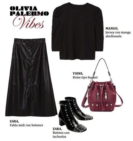 Olivia Palermo Look Low Cost