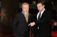 Leonardo DiCaprio y Ridley Scott en 'The Wolf of Wall Street'