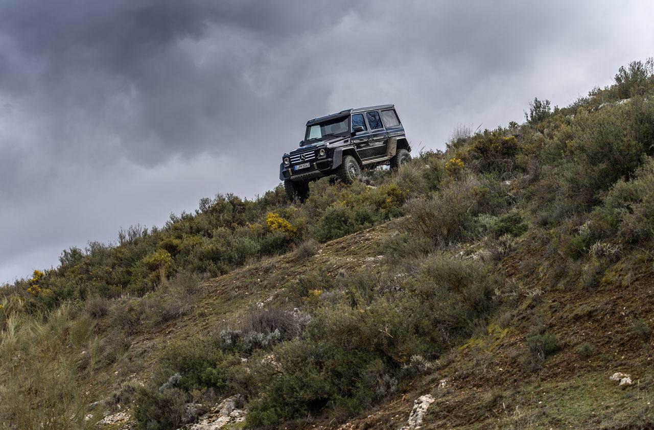 Foto de Mercedes-Benz G 500 4x4², toma de contacto (43/127)