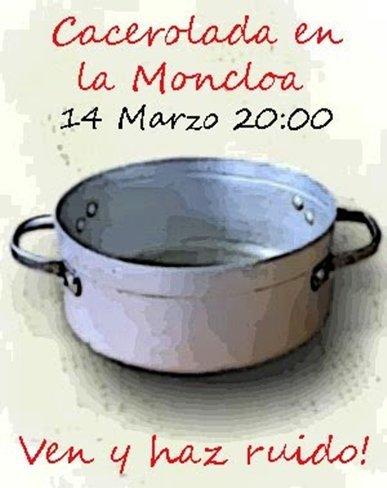 14M: Hoy es el día de la Cacerolada en La Moncloa