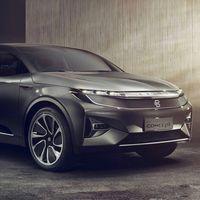 Byton Crossover Concept: este SUV chino y eléctrico promete una pantalla de... ¡49 pulgadas!