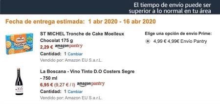 Tiempo Envio Amazon