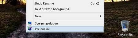 Personalizando el escritorio en Windows 8
