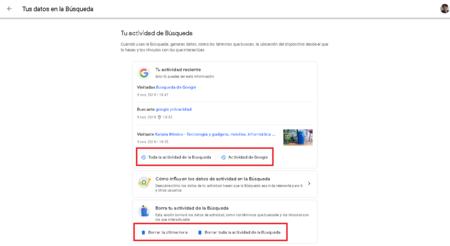 Google Como Borrar Historial Busqueda