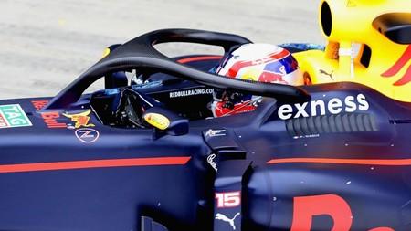 Red Bull Ha Probado Halo Silverstone