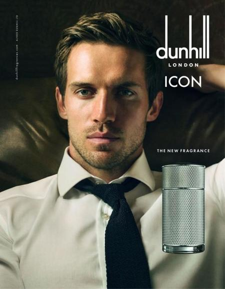 Andrew Cooper presta su rostro para Dunhill Icon fotografiado por Annie Leibovitz