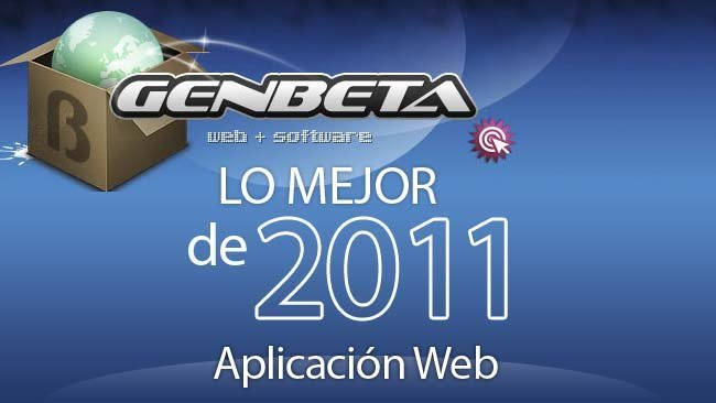 Mejor aplicación web de 2011: las votaciones