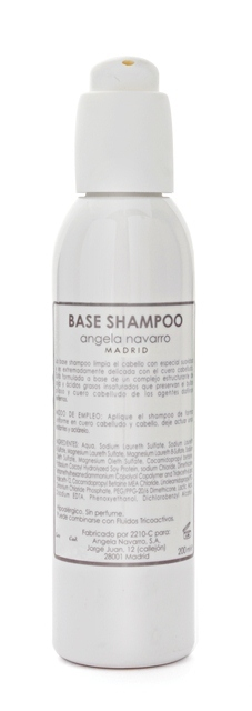 base shampoo Angela Navarro