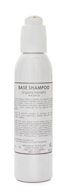 base shampoo Angela Navarro