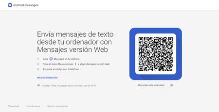 Mensajes Version Web