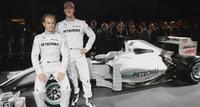 Mercedes GP desvela sus nuevos colores