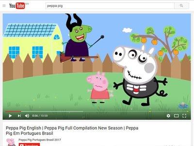Ojo a lo que ven tus hijos en Youtube: hay vídeos muy violentos de dibujos infantiles