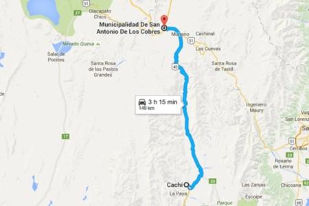 Tramo Cachi San Andres De Los Cobres