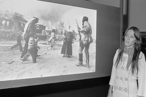 A 10 años de la muerte de Françoise Demulder, la primera mujer que ganó un World Press Photo