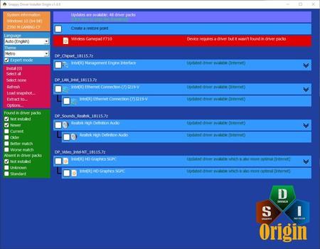Snappy Driver Installer Origin