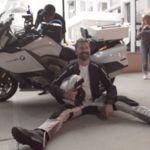 Récord transamericano en moto