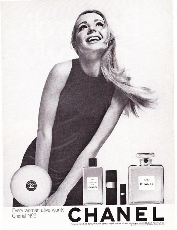 Chanel No. 5 - 1968