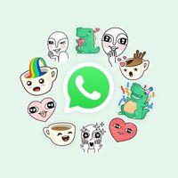 WhatsApp por fin estrena sus stickers: llegan a iOS y Android y hasta podremos crear los nuestros