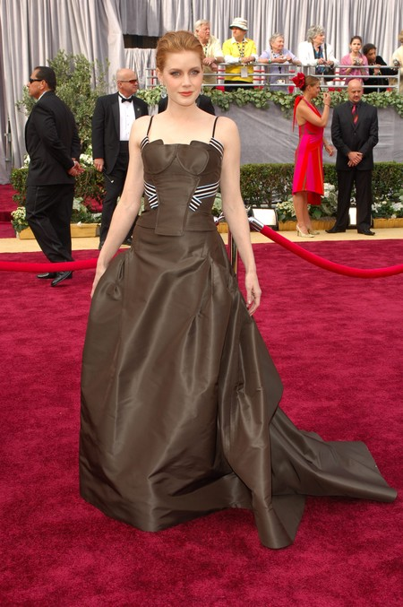 Amy Adams Carolina Herrera Oscar 2006