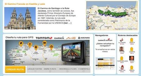Descargar desde internet rutas turísticas para el GPS