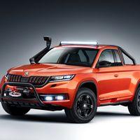 Así es el Škoda Mountiaq Concept, una interesante pick-up que previsiblemente nunca llegará a producción