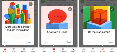 Gmail empieza a integrar Chat y Rooms en las cuentas personales de Google