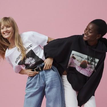 H&M y Helena Christensen se une para lanzar una colección oversize llena de fotos hechas por la modelo