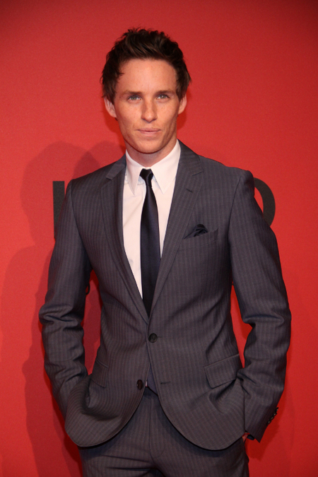 Eddie Redmayne Hugo Boss