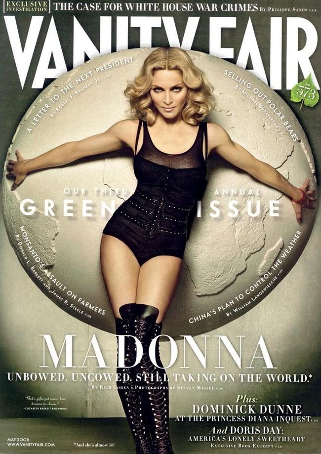 Foto de Madonna en Vainity Fair al completo (1/5)
