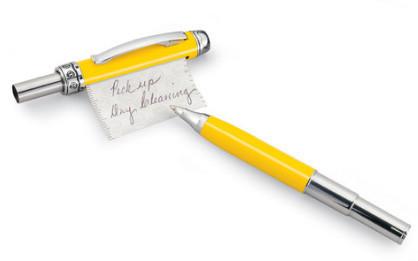 Memo pen, un boli con papel