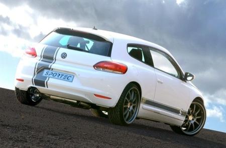 Volkswagen Scirocco SC 350, Sportec aprieta hasta los 350 cv