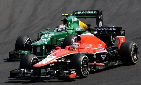 Marussia quiere mantener a su pareja de pilotos la próxima temporada