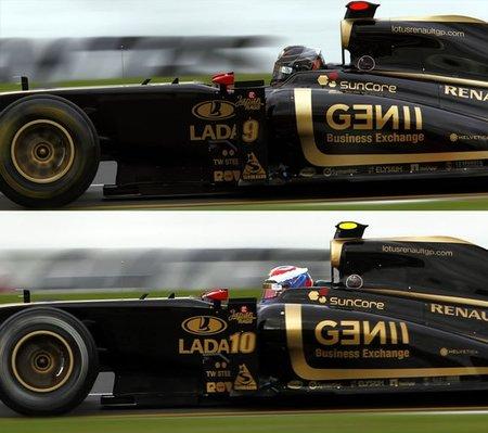 GP Australia F1 2011: los colores Pirelli no se diferencian bien