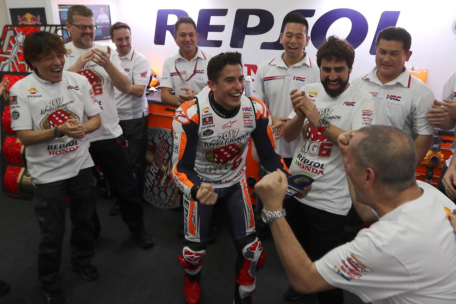 Foto de Marc Márquez - Campeón del Mundo de MotoGP 2017 (47/52)