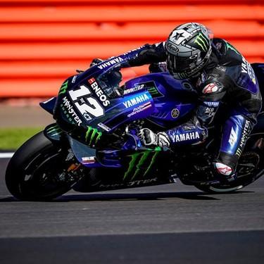Maverick Viñales comanda otro festival de Yamaha en los FP2 de MotoGP en Misano