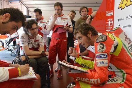 El Ducati Team concluye sus dos días de pruebas en el Circuito de Mugello