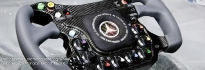 Monaco 2006 Volante de diamantes de Kimi Raikkonen