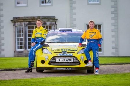 Matthew Wilson recupera la decoración de su padre para el Rally de Gales