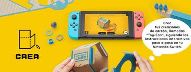 Nintendo anuncia Nintendo Labo: construye tus propios accesorios para Switch