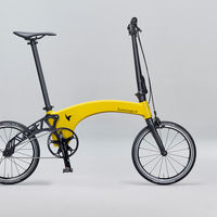 Hummingbird es la bici plegable más ligera del mercado: 6,9 kilos