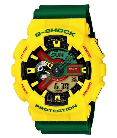 g-shock rasta pack