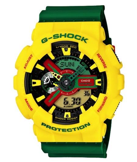 Relojes G-Shock Rastafarian
